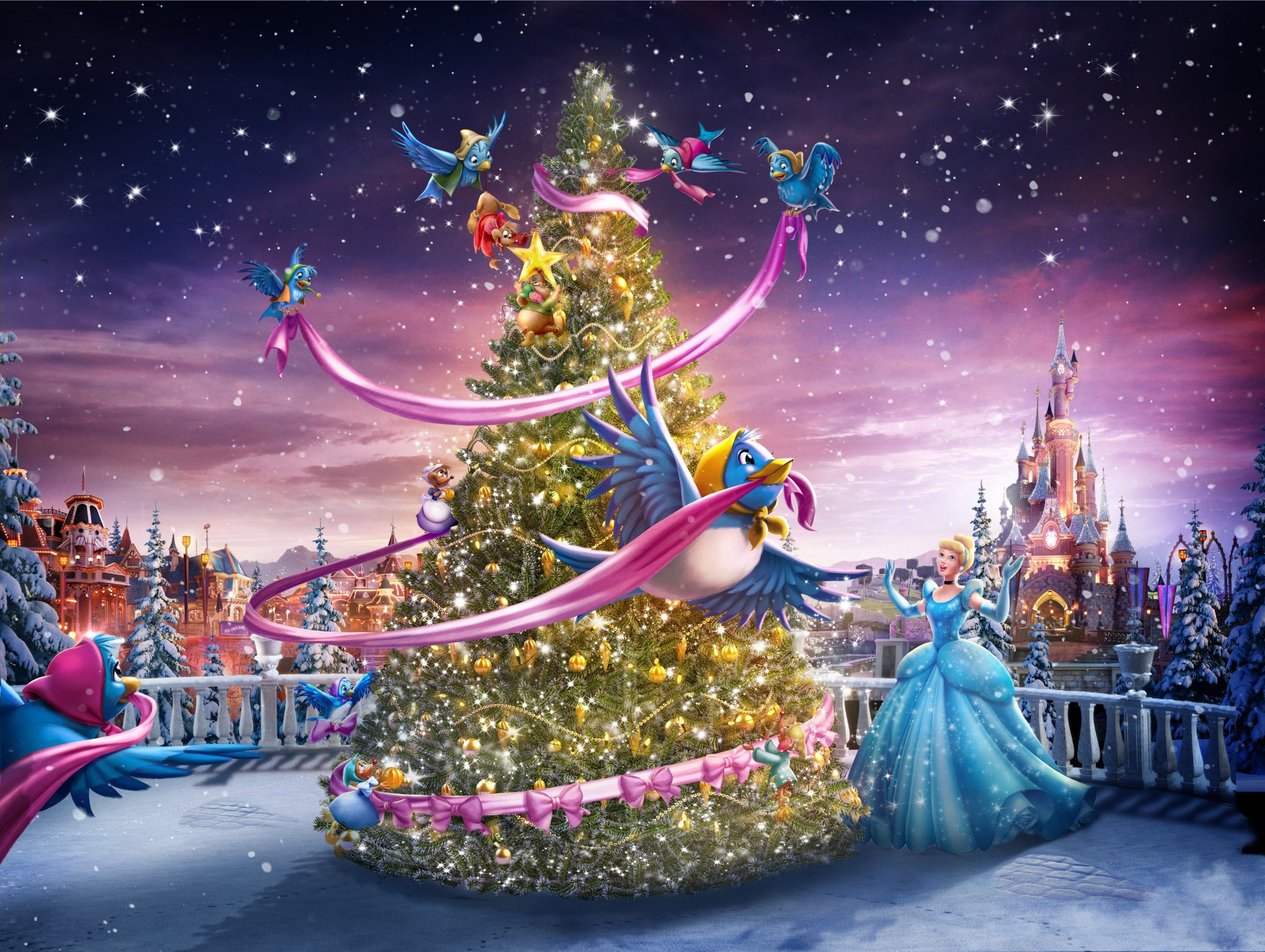 New commercials show disneyland paris is also for adults for Show a paris